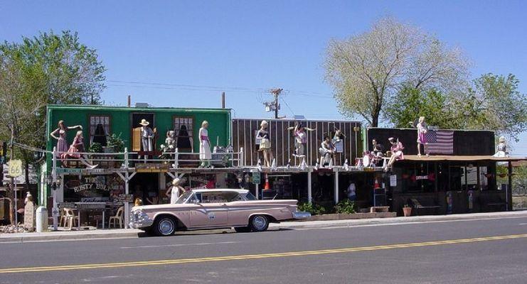 Souvenirladen an der Route 66 AZ