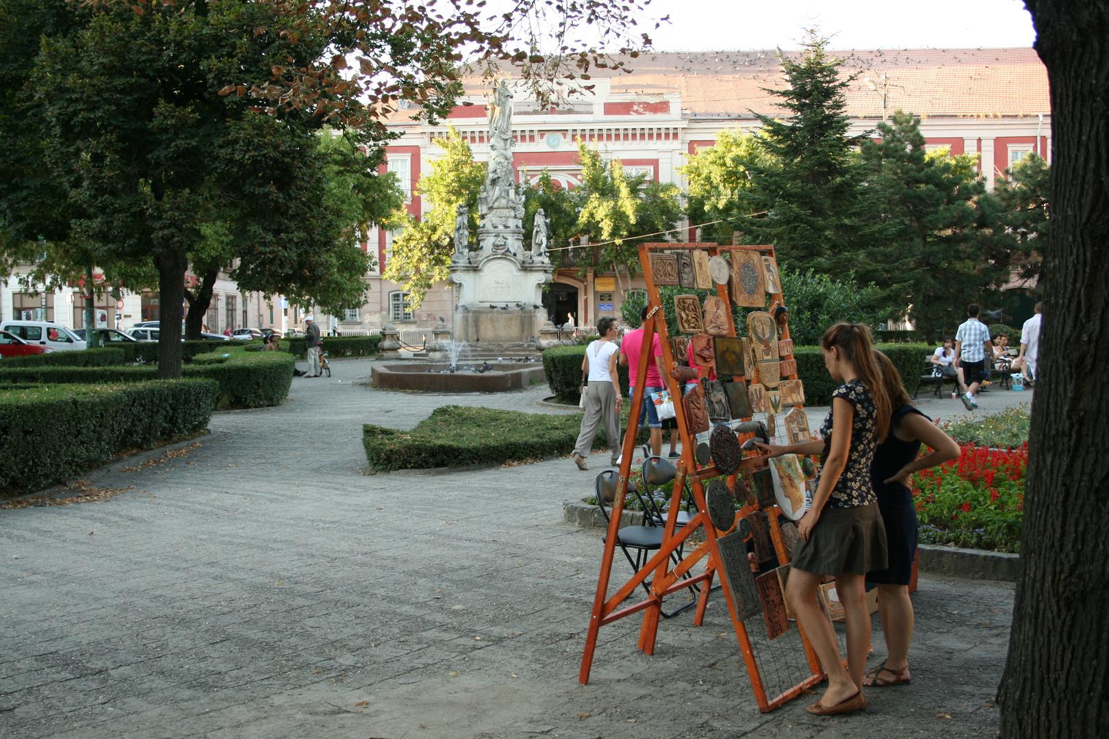 Souvenirs am Altes Rathaus in Timisoara
