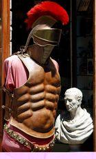 Souvenirshop am Kolosseum in Rom