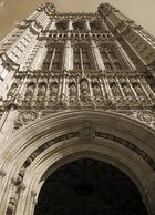 Sovereigns Entrance, Westminster, London