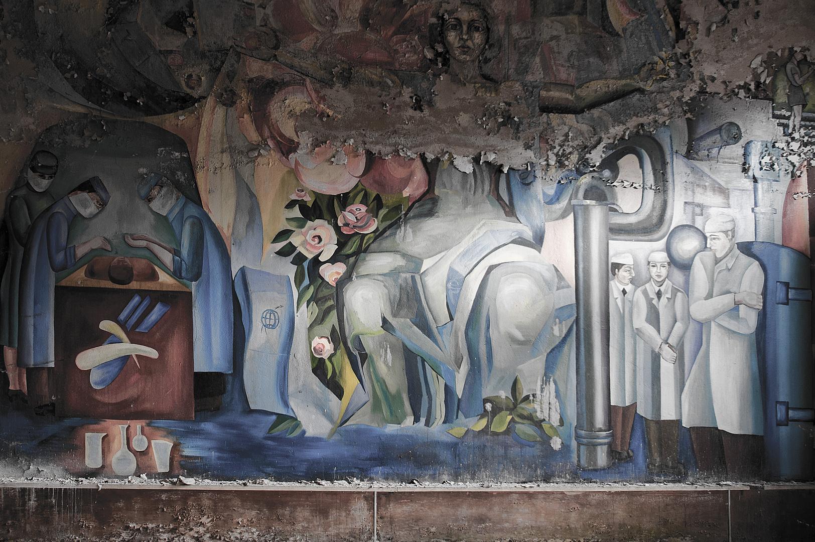 Sovietische Kunst im Irrenhaus
