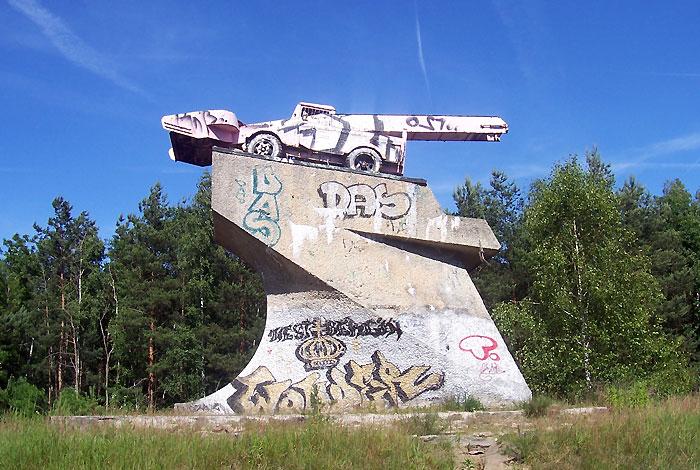 Sowjetischer Schneepflug statt Panzer ...