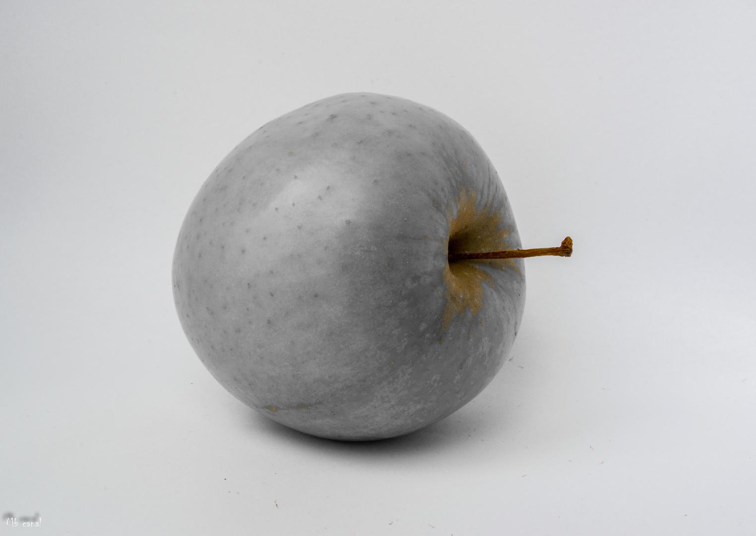 Soy una manzana.