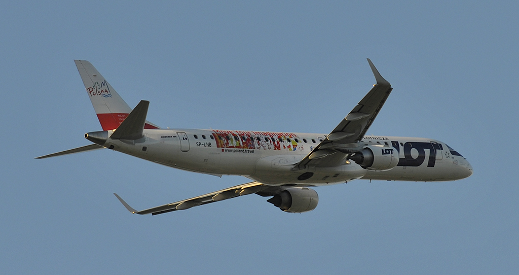 SP-LNB - LOT - Polish Airlines - Embraer 190