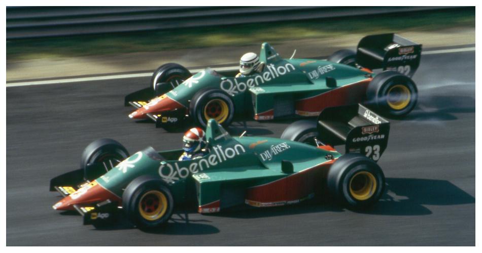 """Spa 1985: Die Pavanello-""""Werks""""-Alfas mit Cheever und Patrese"""
