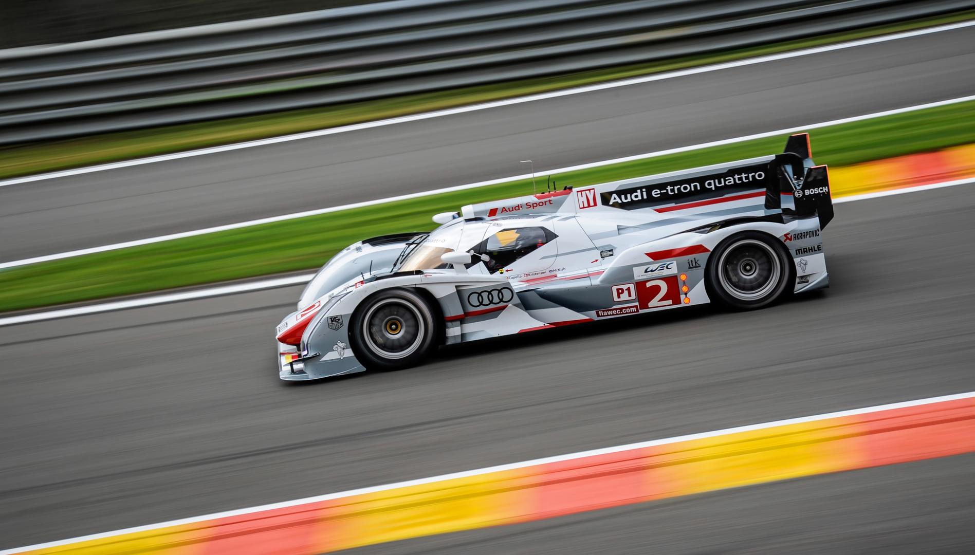 Spa-Francorchamps / WEC 6 Heures / 2012 / Audi R18 e-tron quattro