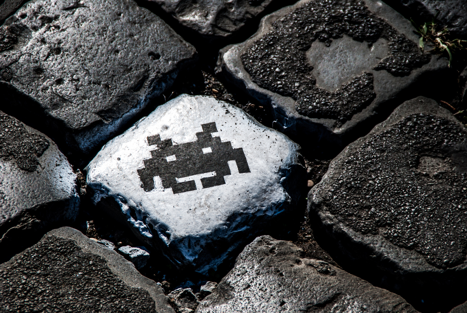 SPACE INVADERS IN ROME