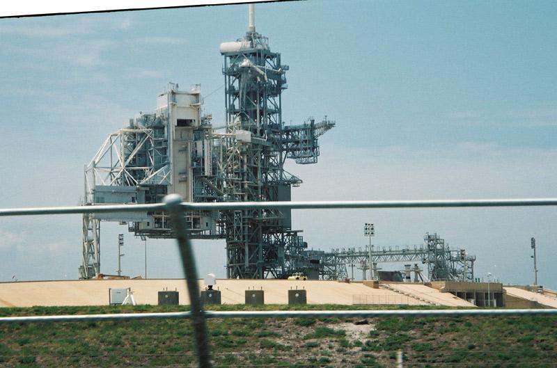Space Shuttle Startrampe im KSC Teil 2 (näher dran)
