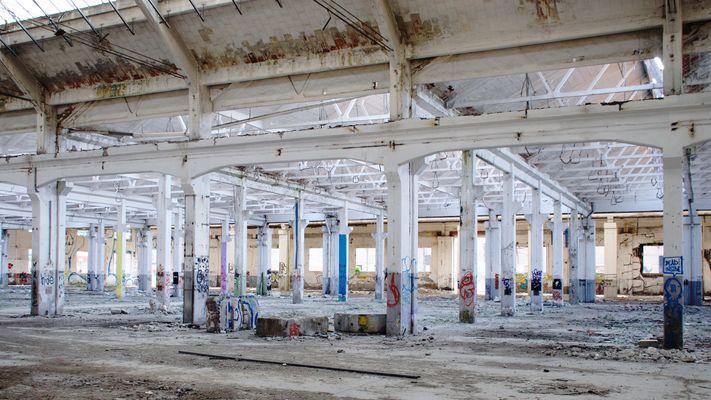 spaces - industrial wasteland