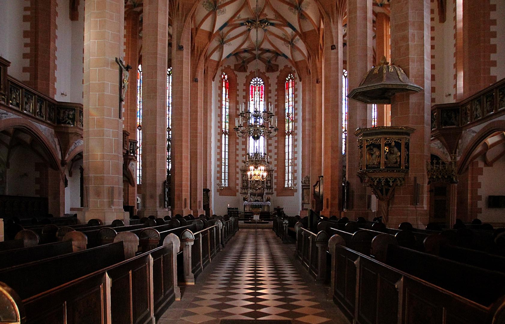 Spätgotische Annenkirche in Annaberg- Buchholz