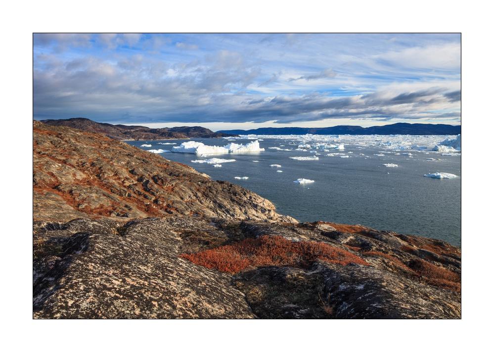 Spätherbst im Eisfjord von Ilulisat