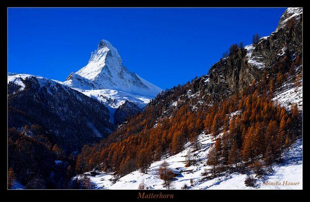 Spätherbst im Wallis