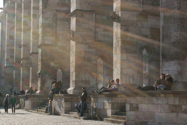 Spätnachmittag am Regensburger Dom