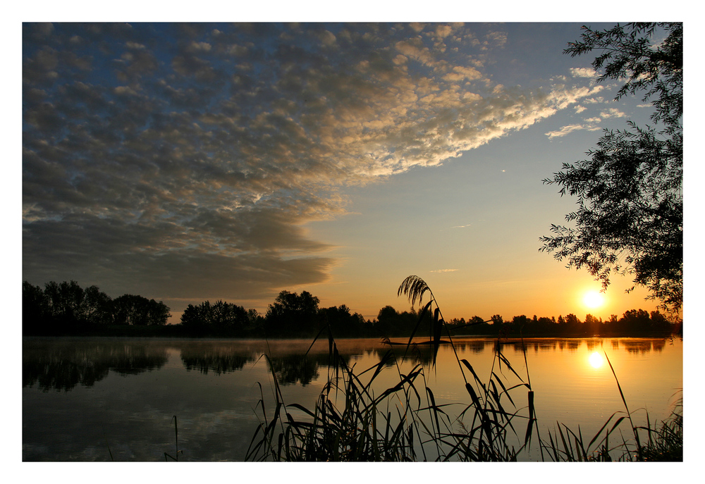 Spätsommer  Spätsommer am Altmühlsee Foto & Bild   landschaft, bach, fluss ...