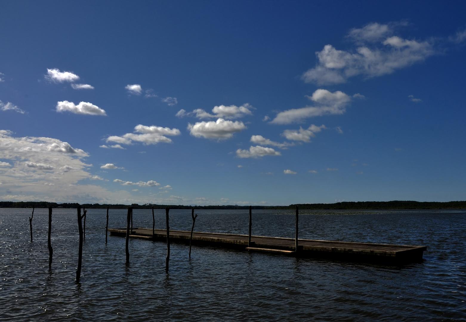 Spätsommer am Lac de Soustons