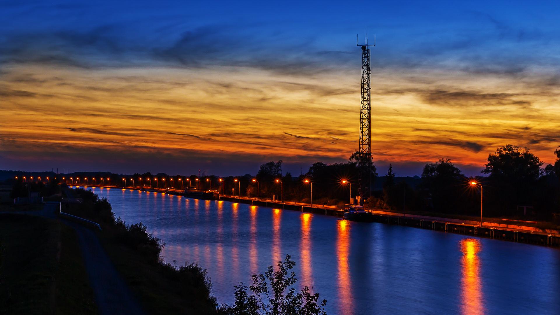 Spätsommer am Mittellandkanal