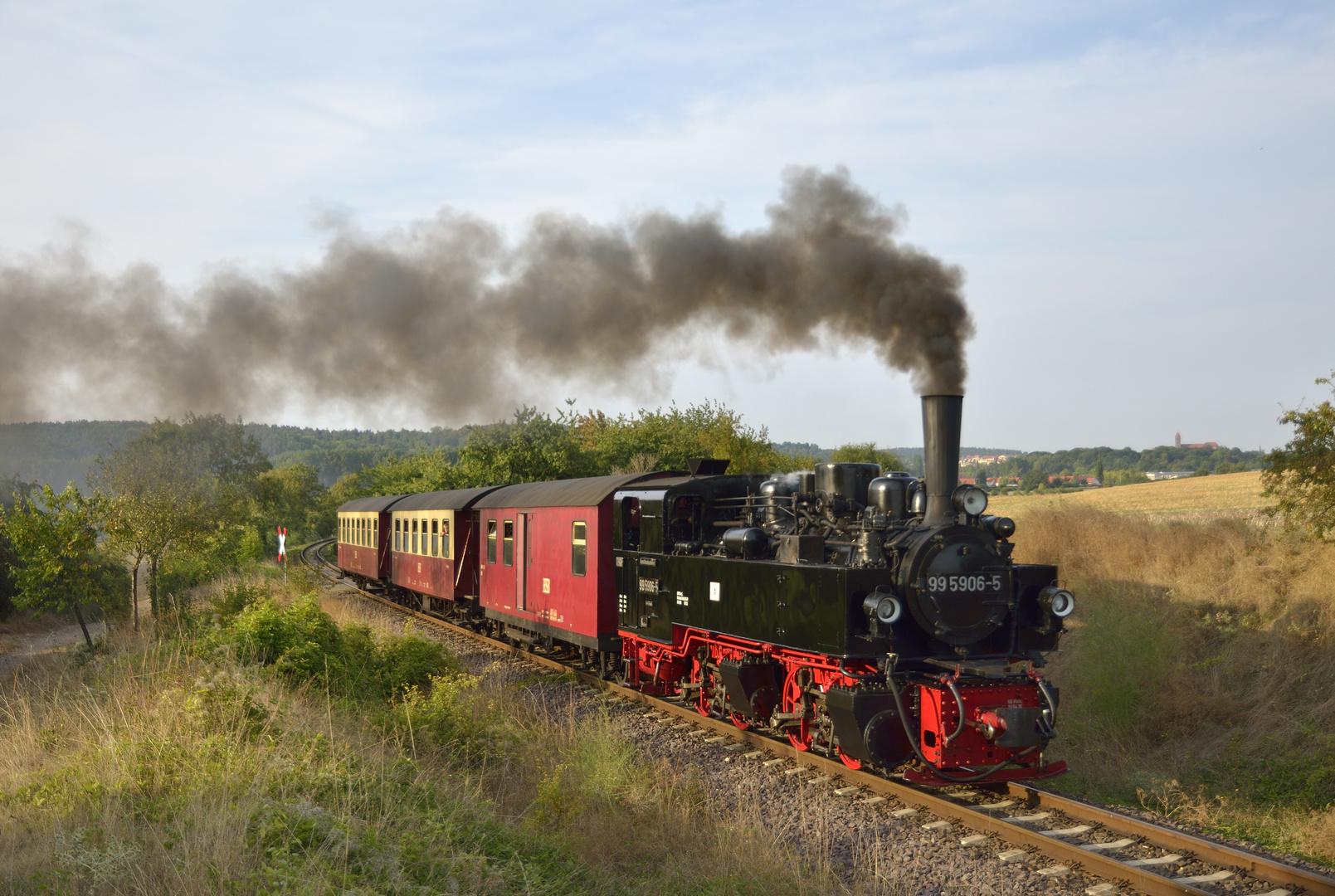Spätsommergruß aus Quarmbeck (Selketalbahn)