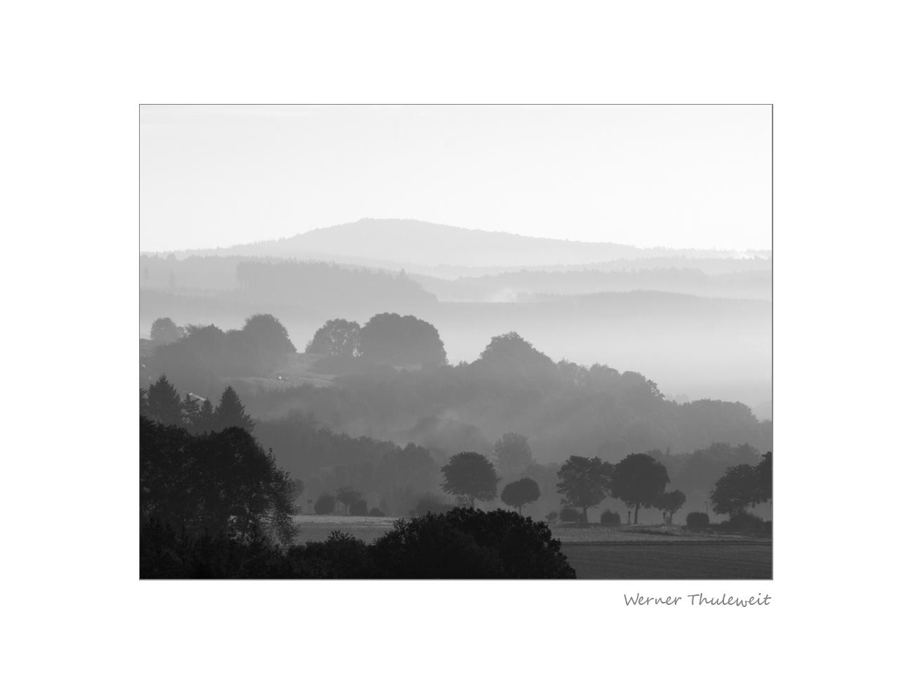 Spätsommermorgen im Knüllgebirge