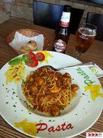 Spaghetti Bolognese con Funghi