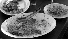 Spaghetti e vongole...