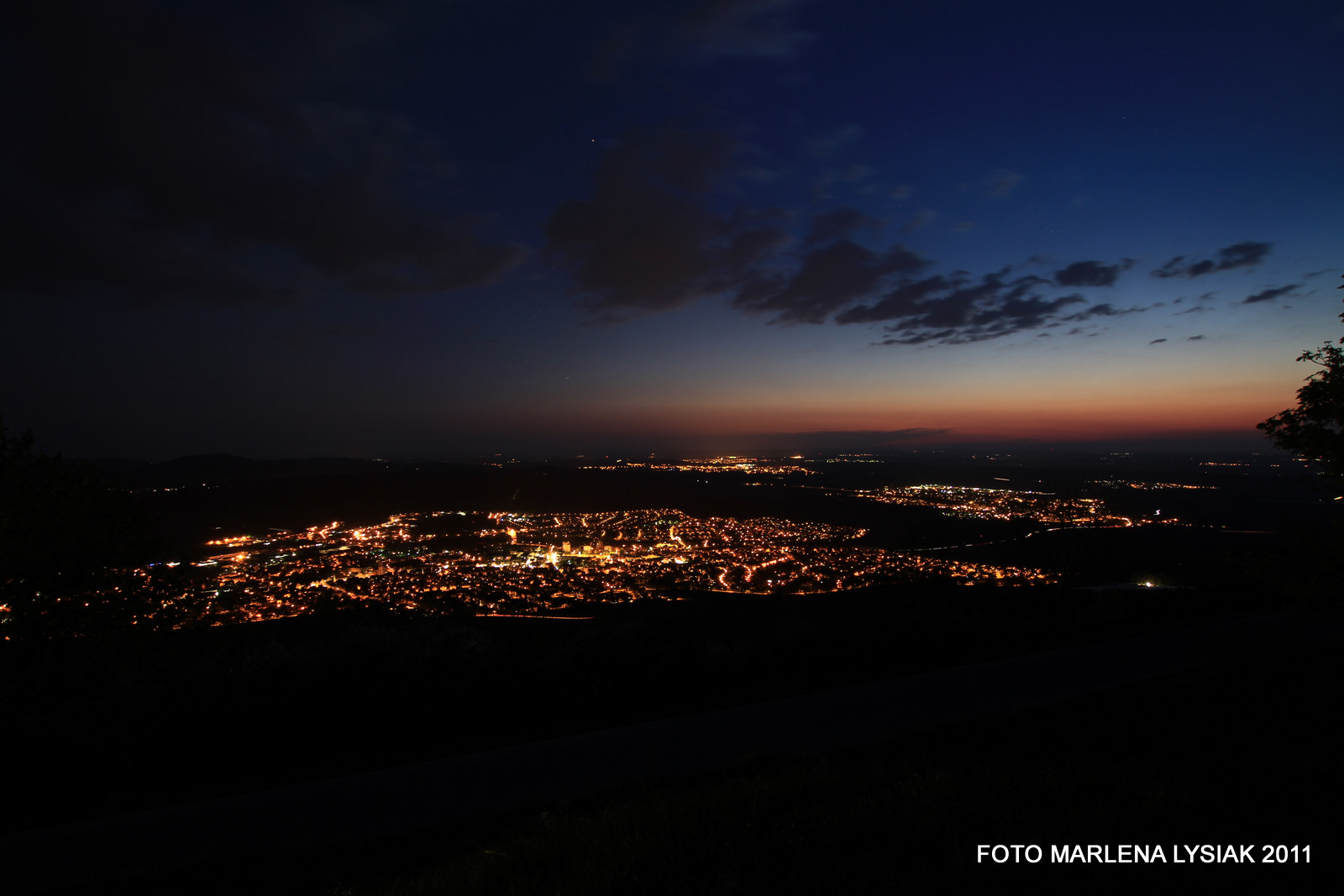 Spaichingen at night 2