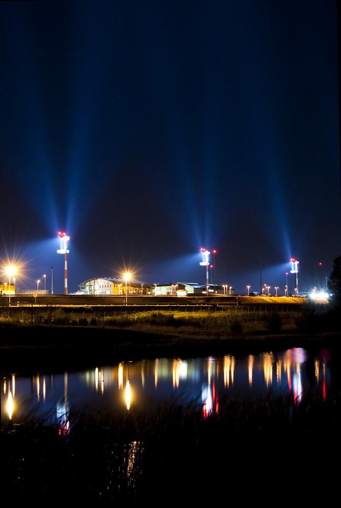 Spangdahlem Air Base @ night