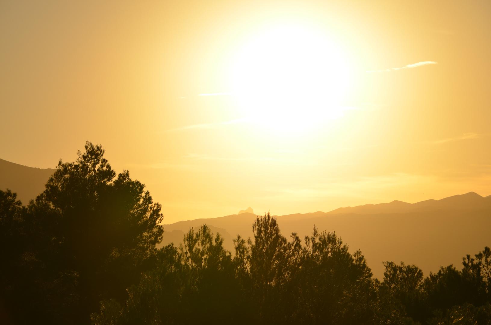 Spaniens Herbstsonne