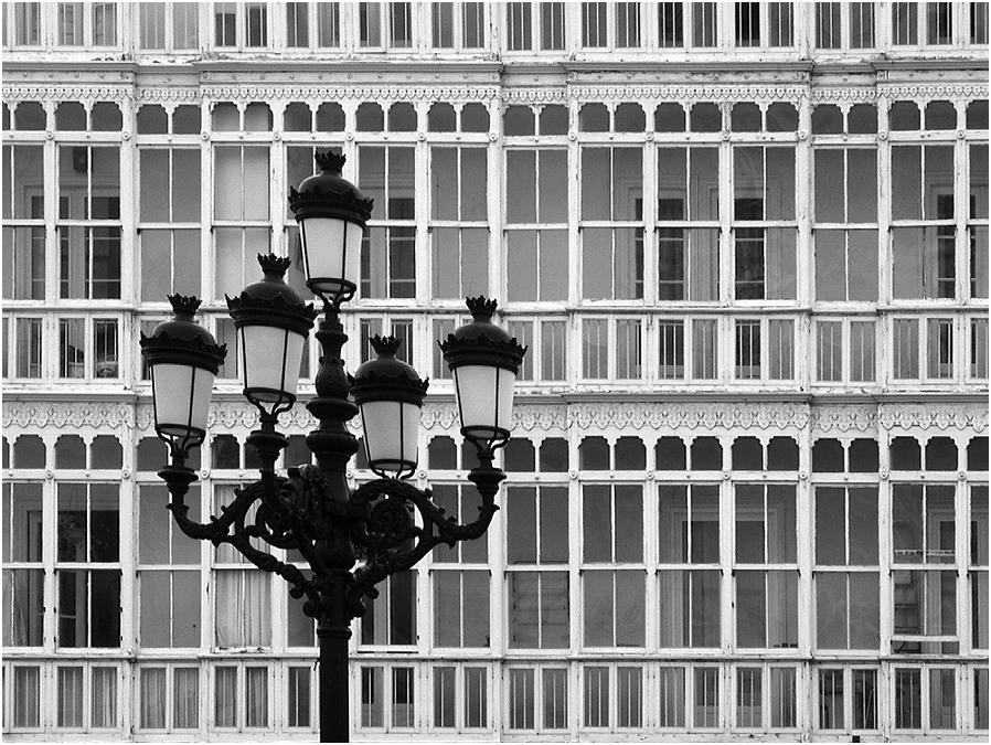 Spanische Balkone