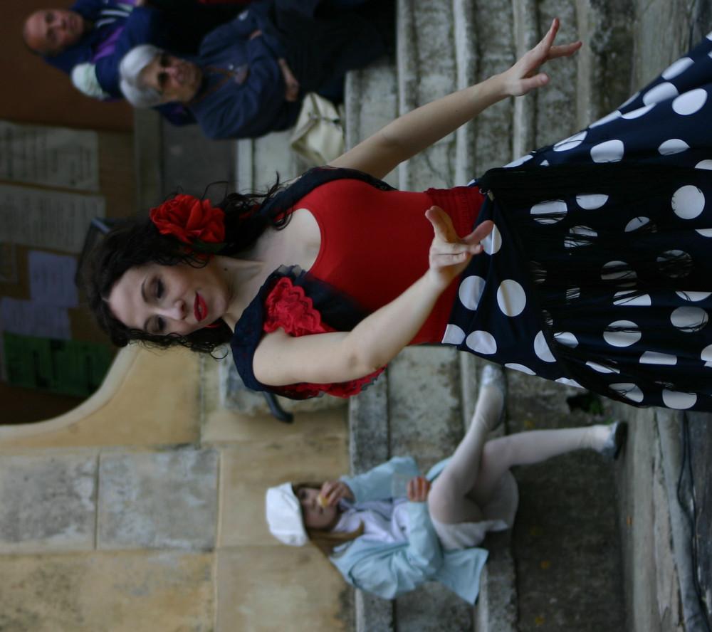 Spanische Impressionen auf einem Osterfest in Ligurien 2007