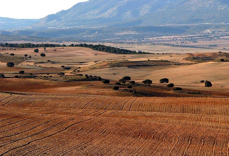 Spanische Landschaft mal anders