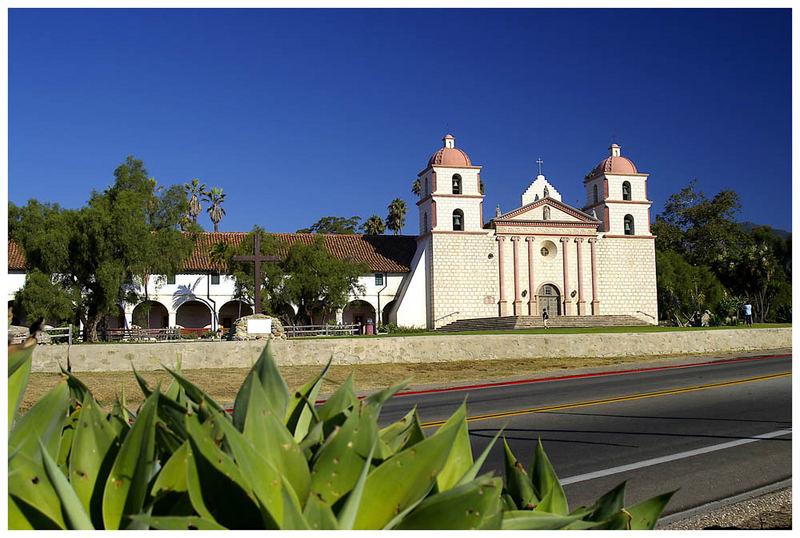 Spanische Mission in Santa Barbara