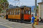 Spanische Straßenbahn