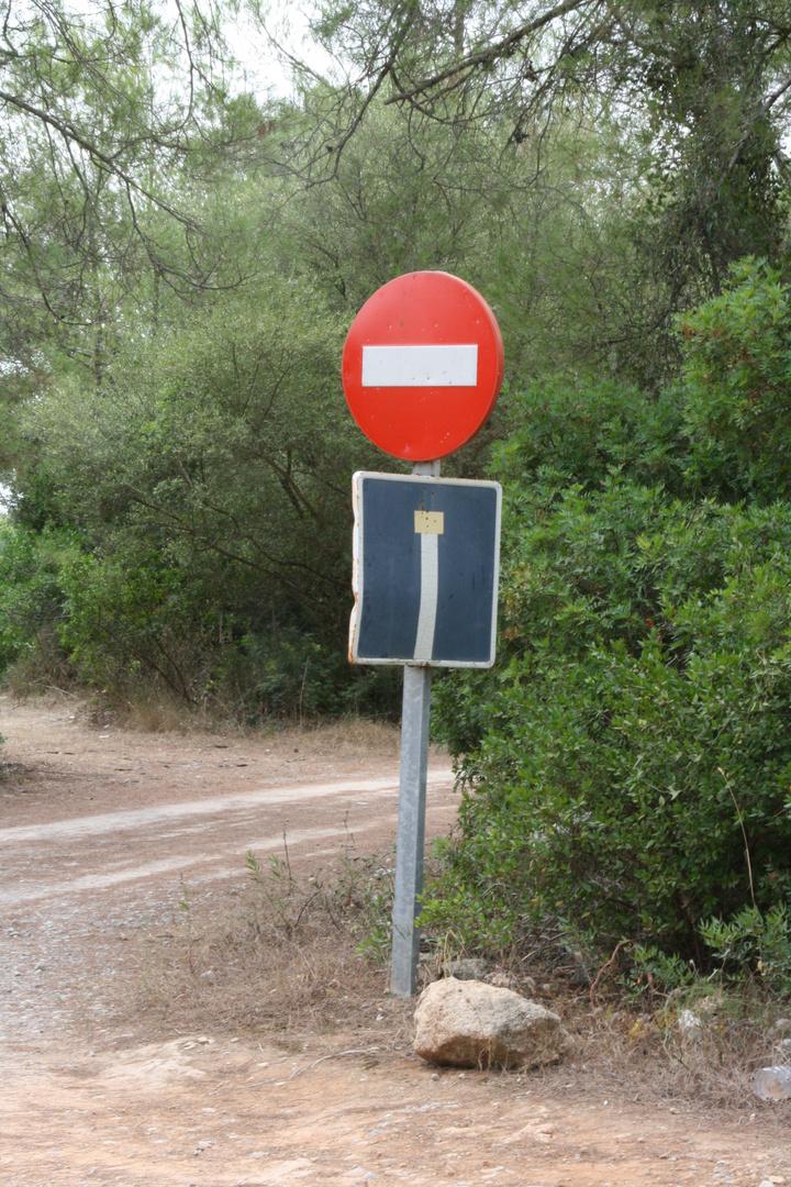 Spanische Straßenverhältnisse