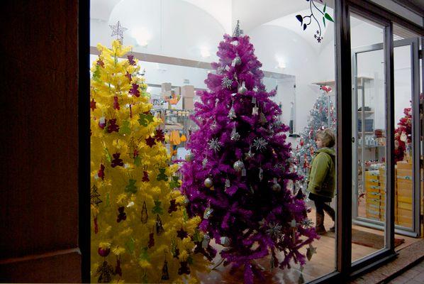 spanische Weihnachtsbäume