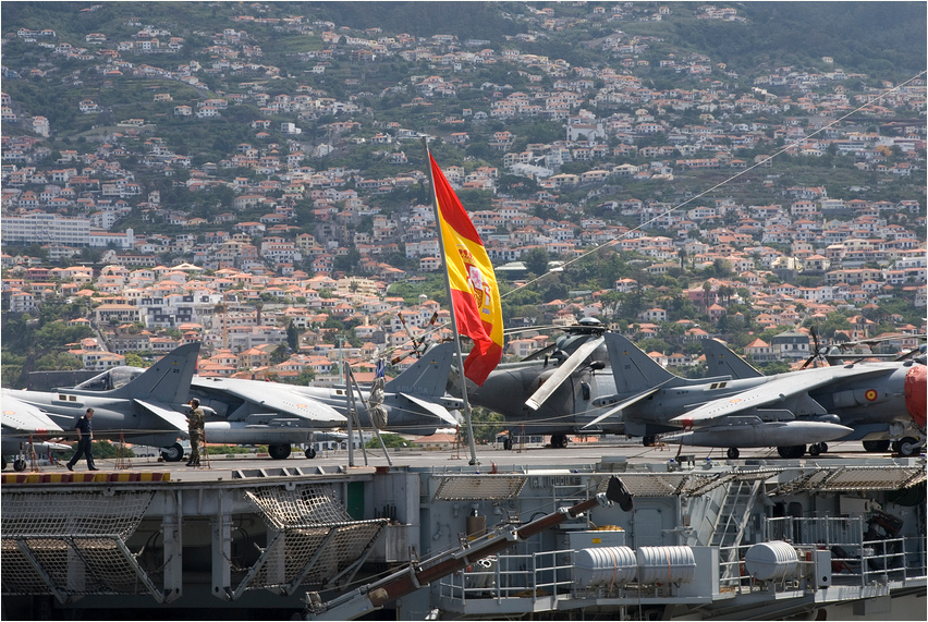 Spanischer Besuch in Funchal (Madeira)