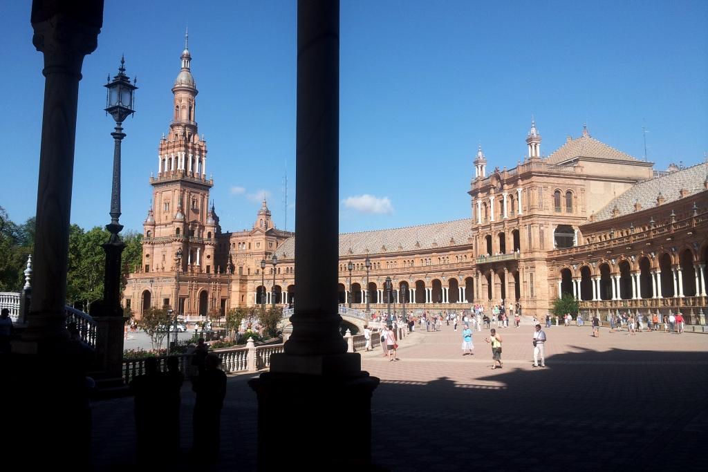 Spanischer Platz in Sevilla I