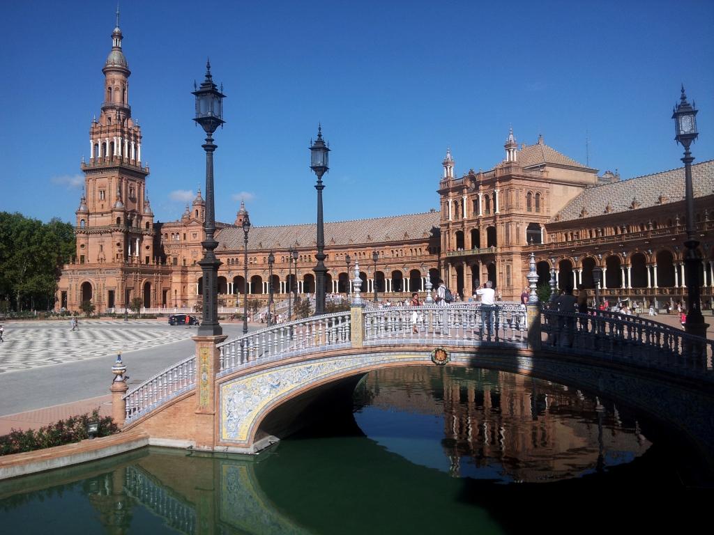 Spanischer Platz in Sevilla II
