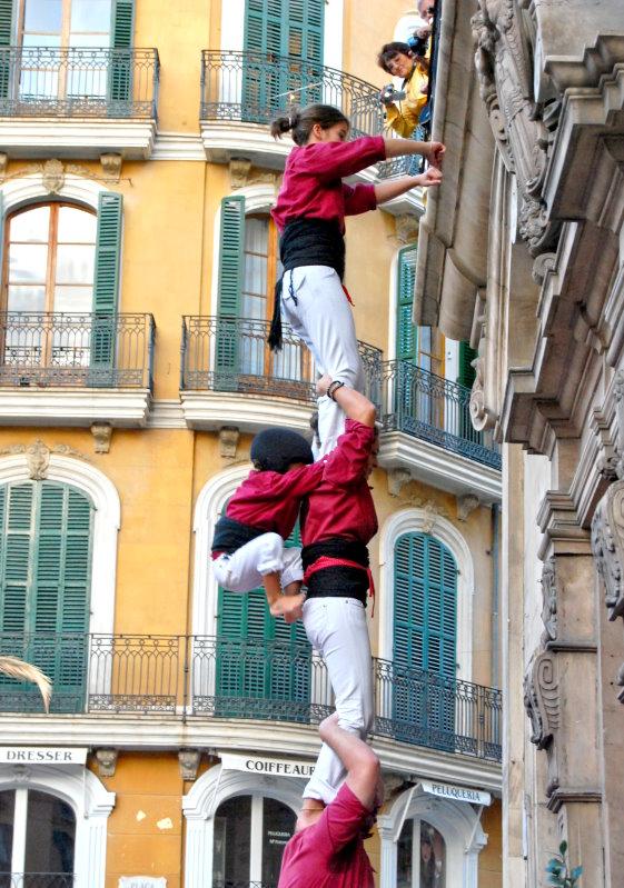 Spanischer Turmbau