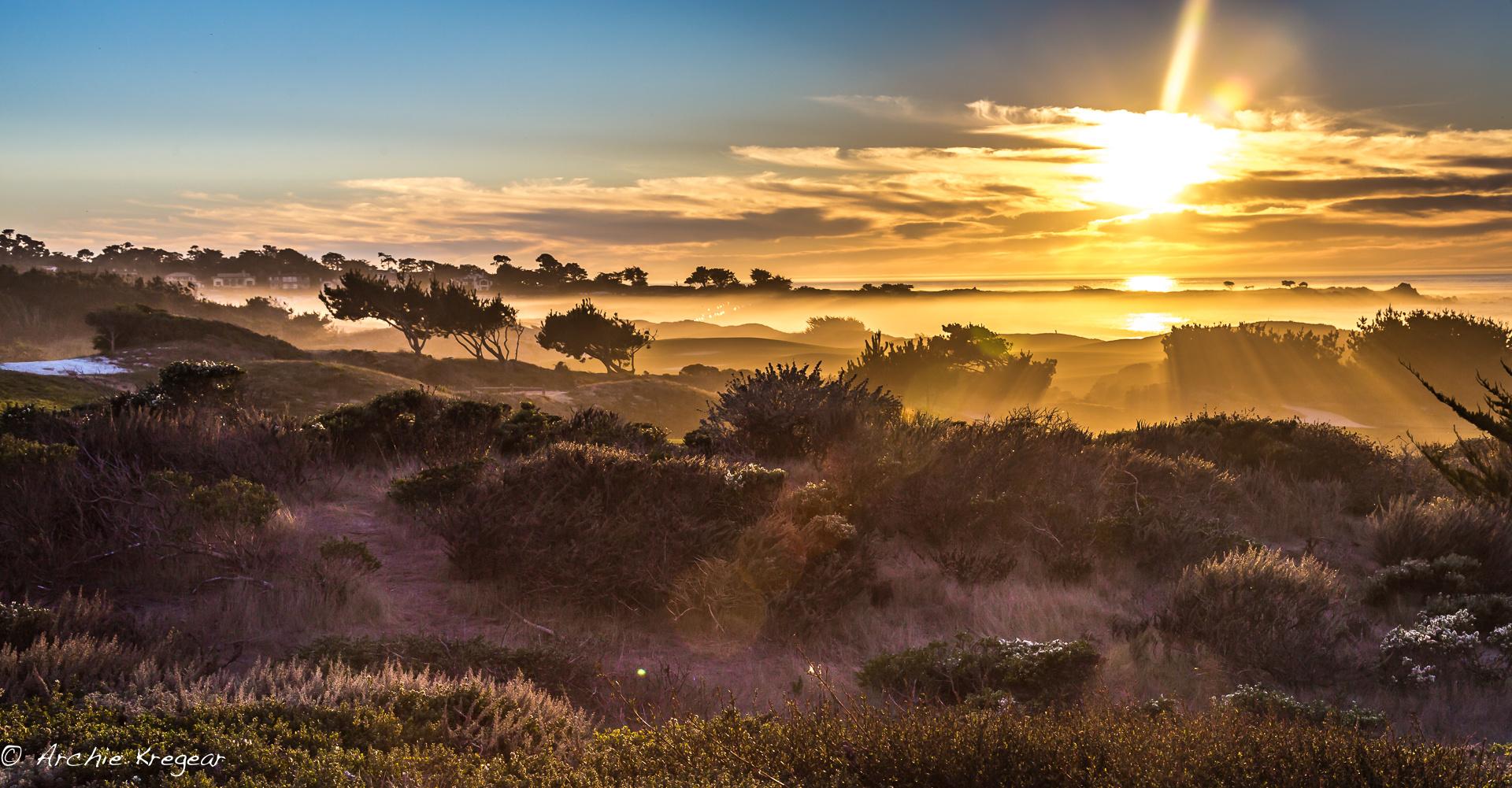 Spanish Bay - Sunset