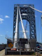 Spannseil der Washington Bridge NYC
