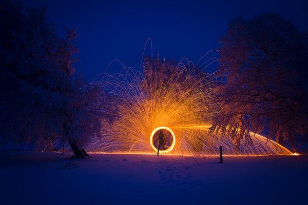 spark hole