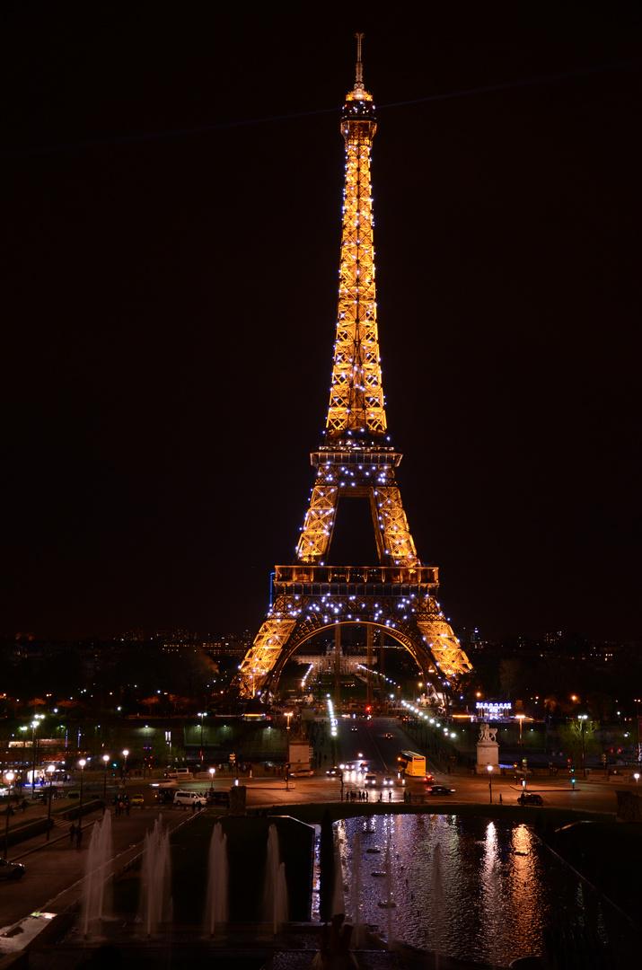 Sparkling Eiffeltower