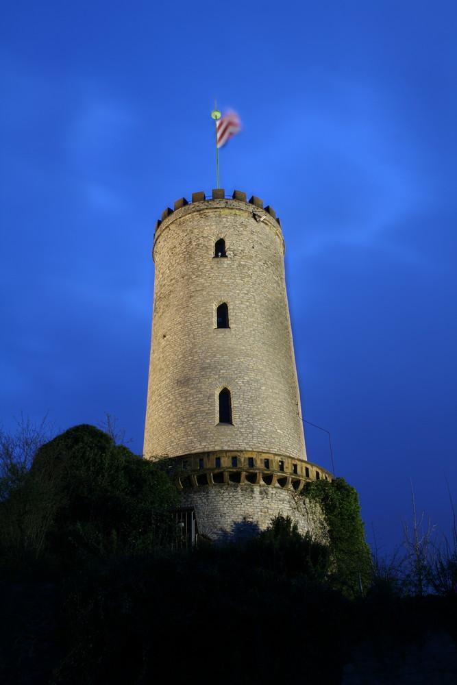 Sparrenburg bei Night