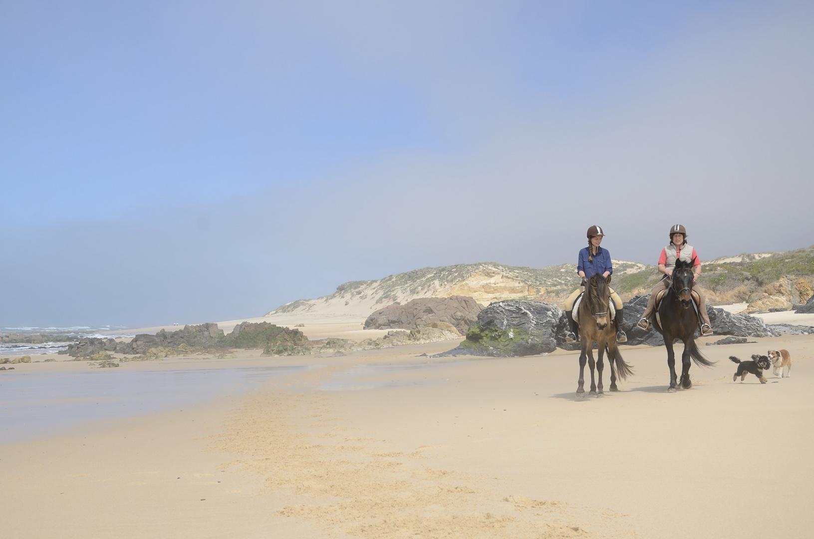 Spaß an der Westküste von Portugal