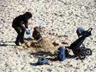 Spaß im Sand