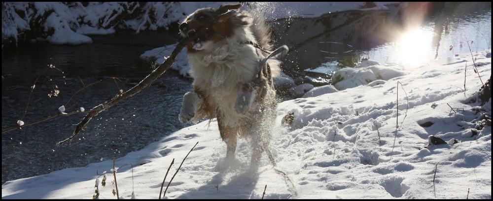 Spaß im Schnee :)