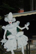 Spaßmacher-Figur in Rathen