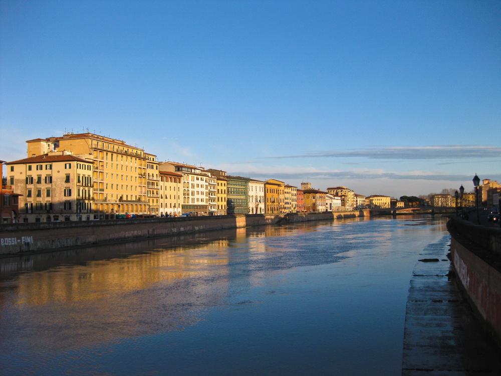 Spaziergang am Arno