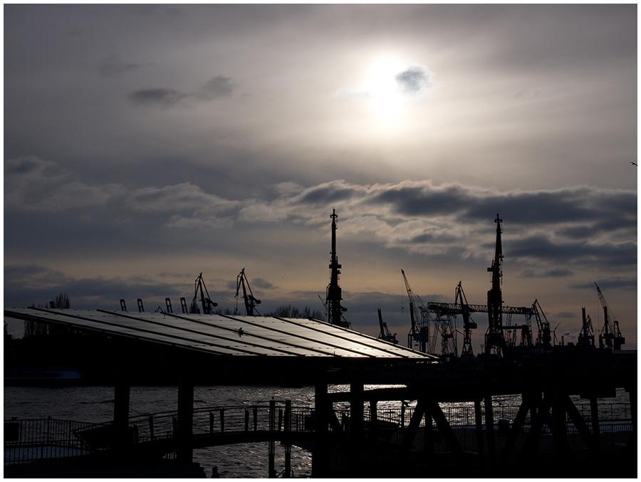Spaziergang am Hafen