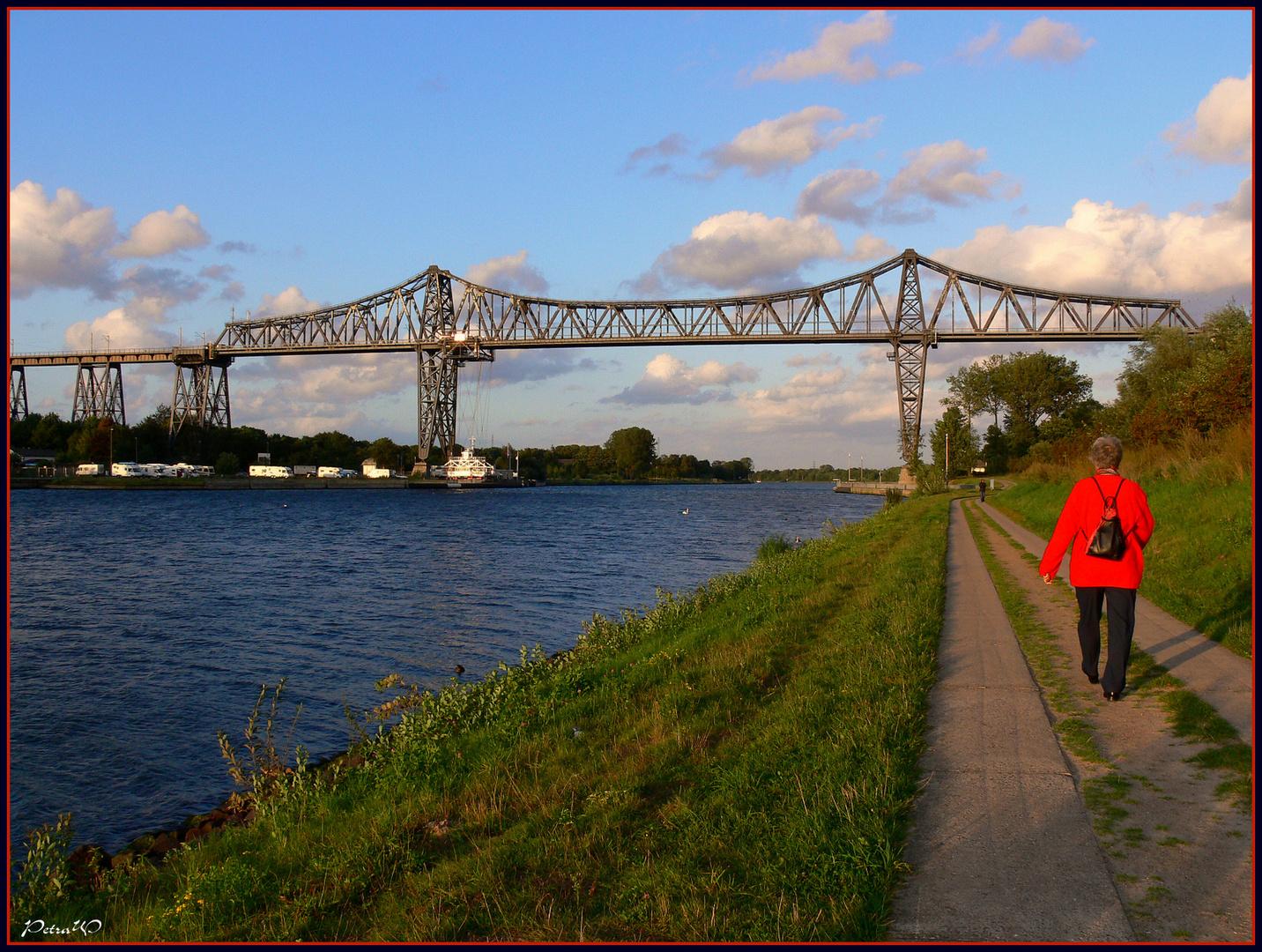 Spaziergang am Nord-Ostsee-Kanal